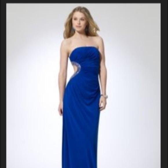 Prom Dress Cache Gown   Poshmark
